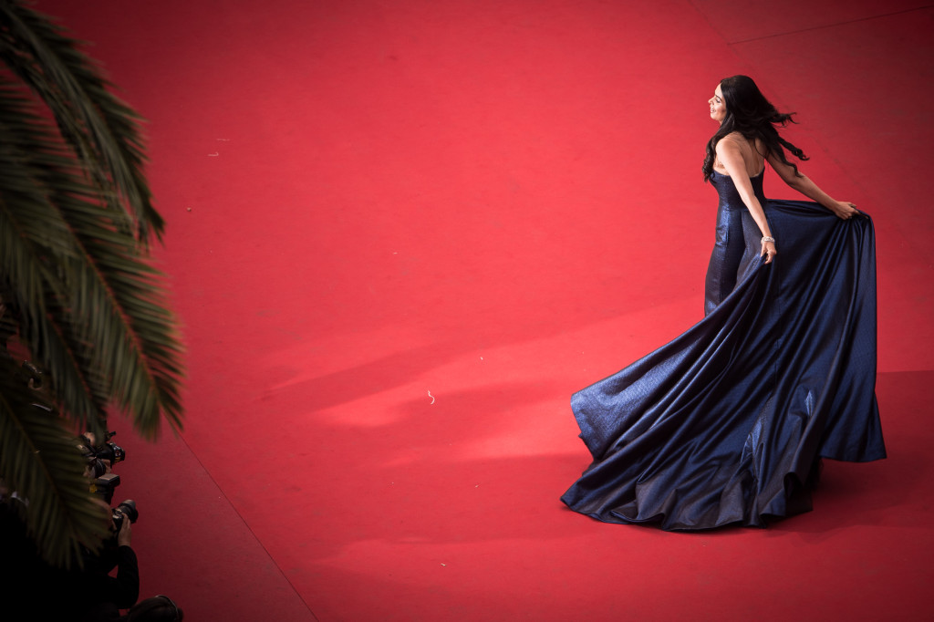 "CANNES, FRANCE - MAY 23:  (EDITORS NOTE : This image was processed using digital filters.) Mallika Sherawat attends the Premiere of ""Macbeth"" during the 68th annual Cannes Film Festival on May 23, 2015 in Cannes, France.  (Photo by Francois Durand/Getty Images,,)"