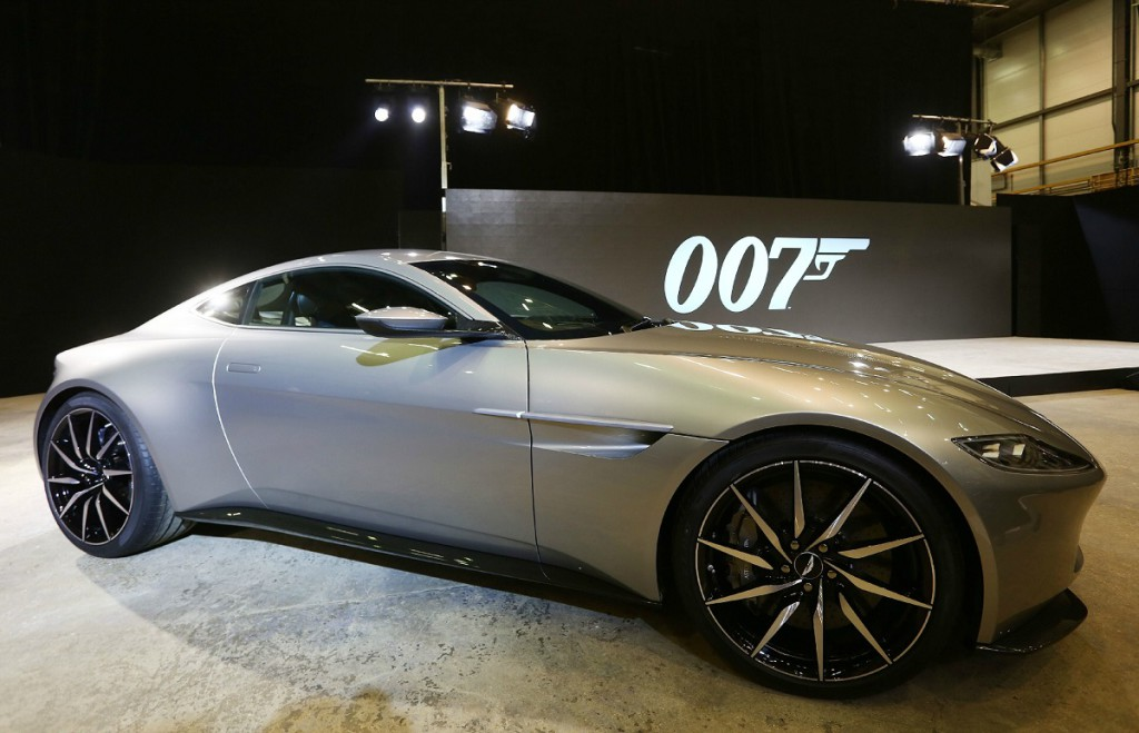 James Bond 'Spectre' film photocall Featuring: Aston Martin DB10 Where: London, United Kingdom When: 04 Dec 2014 Credit: Lexi Jones/WENN.com